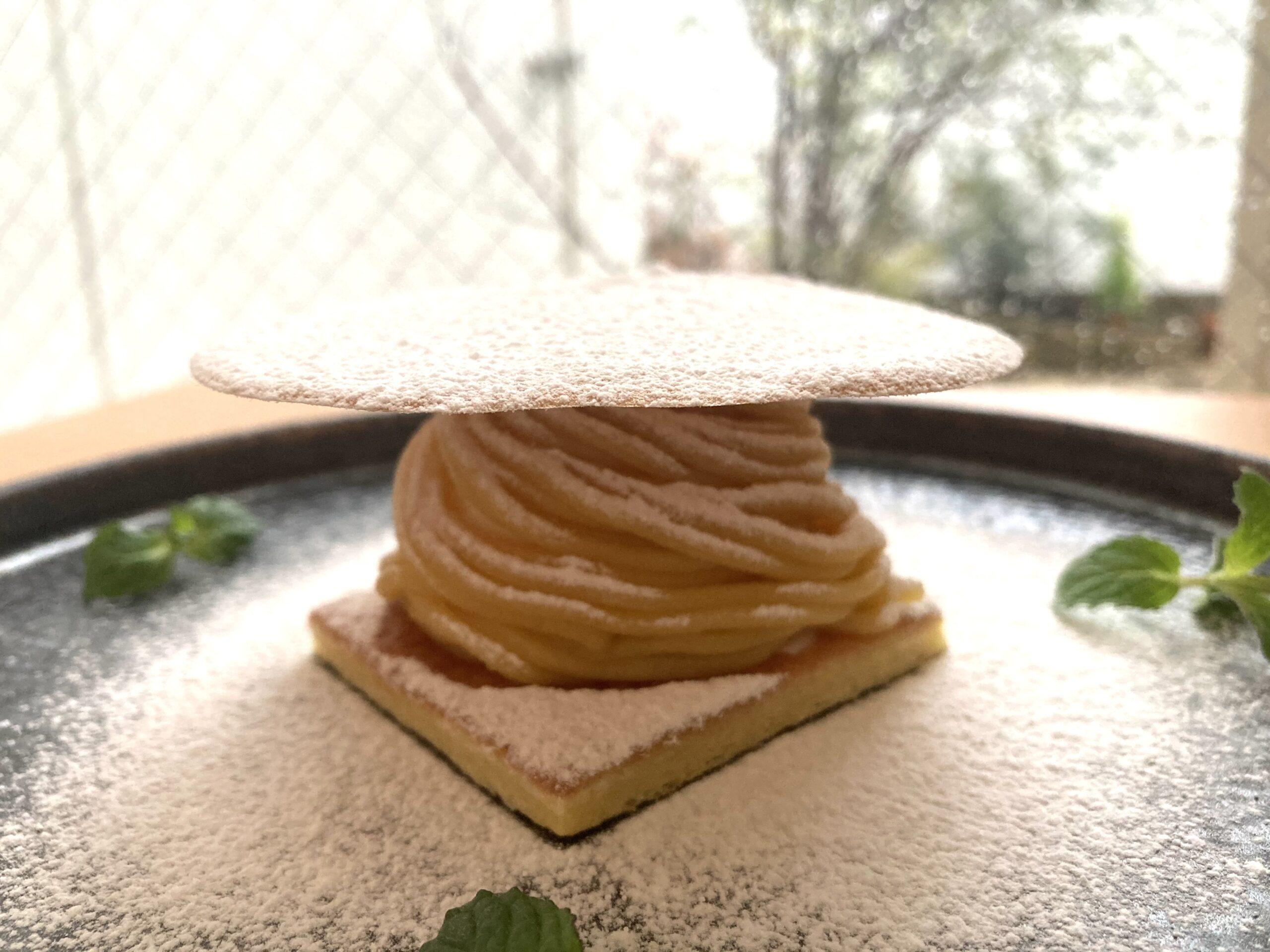 安納芋のしぼりたてモンブラン
